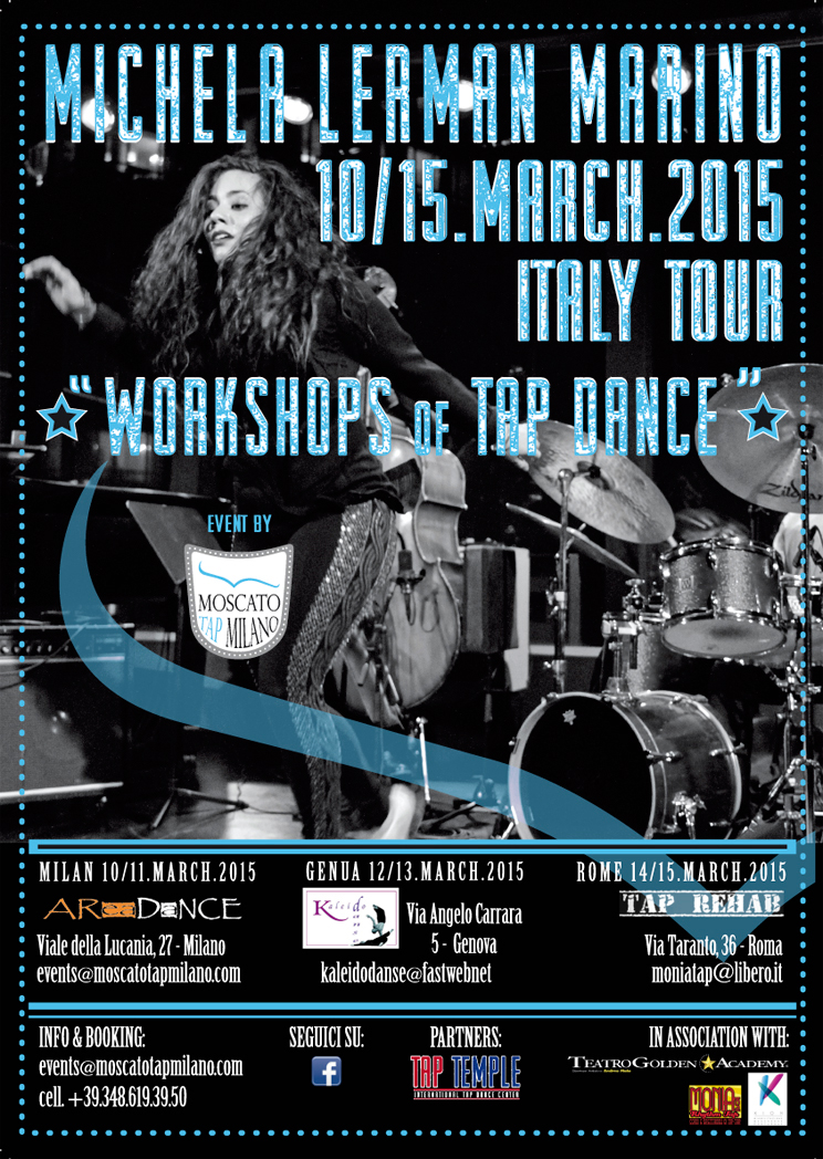 """Michela Lerman Marino Italy Tour 2015″"