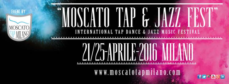 """Moscato Tap & Jazz Fest"" 21-25 April Milan"